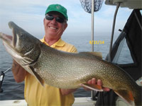 Lake Trout Fishing on Lake Ontario