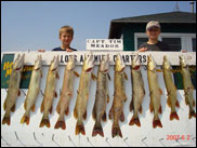 Northern Pike Fishing on Lake Ontario